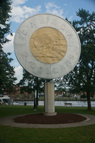 the big Toonie in Campbellford